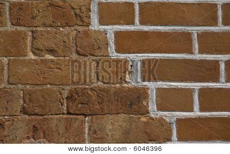 Renovated Old Brickwall