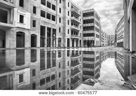 An Unfinished Residential Complex