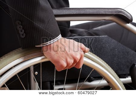 Independent Diabled Man