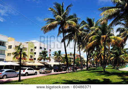 South Beach Strip and Common