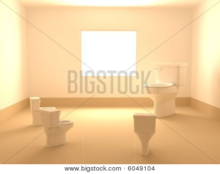 Window Room Toilets