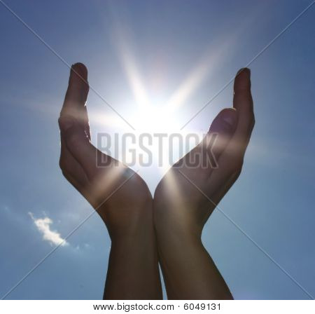 Sun into your hands