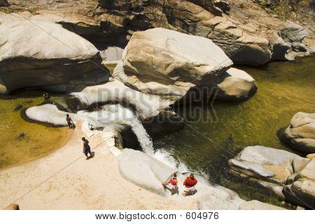 Chicos Paradies natürliche Wasserrutsche