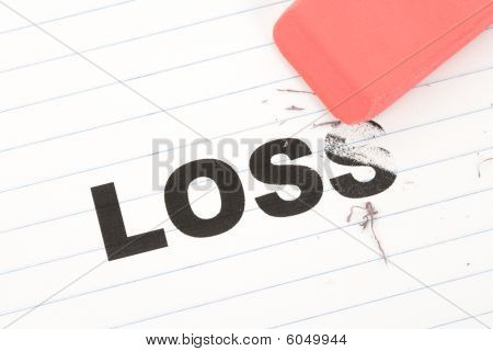 Eraser And Word Loss