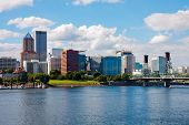 stock photo of portland oregon  - Portland Oregon - JPG