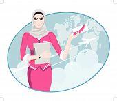 pic of air hostess  - Air Travel - JPG