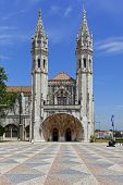 Maritime or Navy Museum (Museu de Marinha) in Belem, Lisbon Portugal. Integrated in the Jeronimos Mo