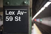 New York City Subway Sign