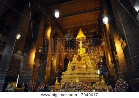 Grand Buddha Gold Hall Thailand