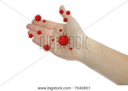 Bacterial Hands