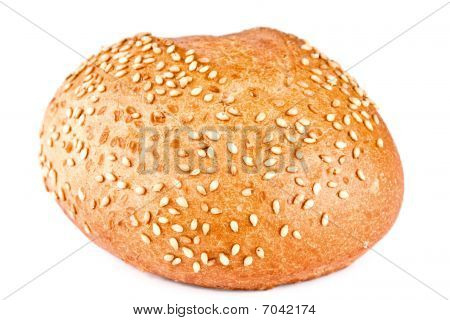 Bread, Roll Strewed By A Sesame
