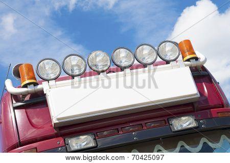 Lights On Truck