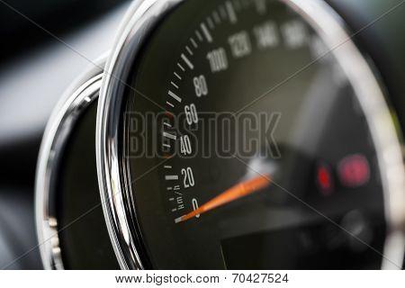 Speedometer Detail