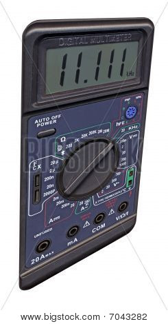 isolated Digital Multimeter With Switch, Different Measurement