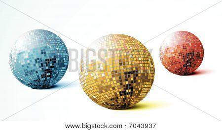Disco Spiegelkugeln