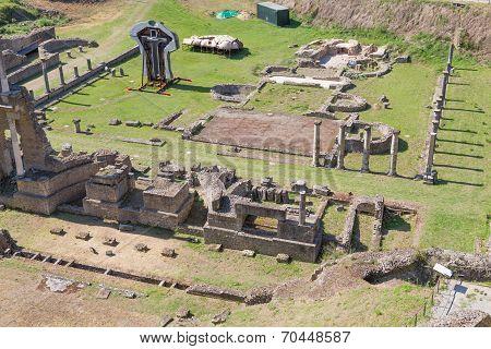 Old Romans Theater In Volterra