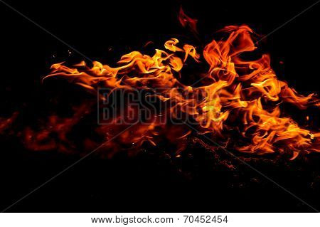 Burning Fire Flame