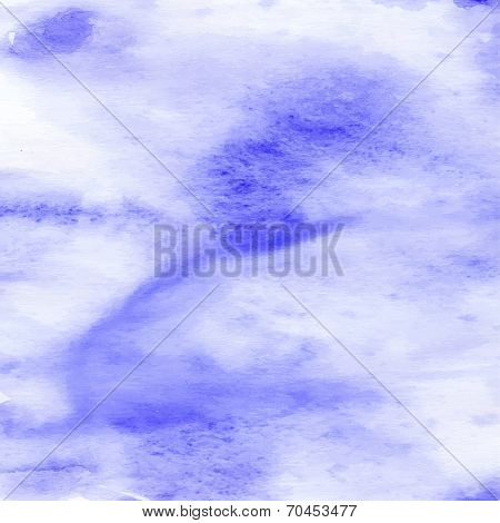 Abstract Artistic Grunge Aquacolor  Backdrop.  Handiwork     Texture. Blue Handmade Image  For Diffe
