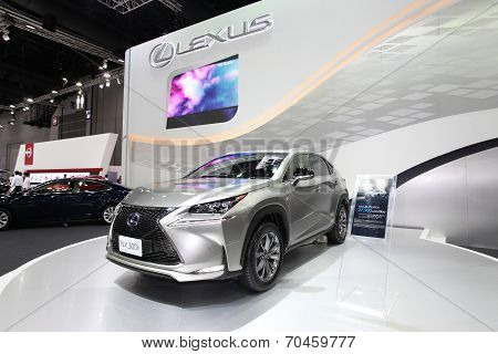 Bangkok - August 19: Lexus Nx 300H Car On Display At Big Motor Sale On August, 2014 In Bangkok, Thai