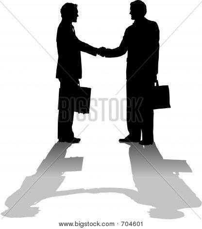 Hand Shake Greeting