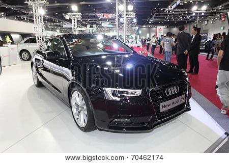 Bangkok - August 19: Audi New Audi A5 Car On Display At Big Motor Sale On August, 2014 In Bangkok, T