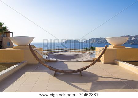 Hammock With Beautiful Sea View In Hotel