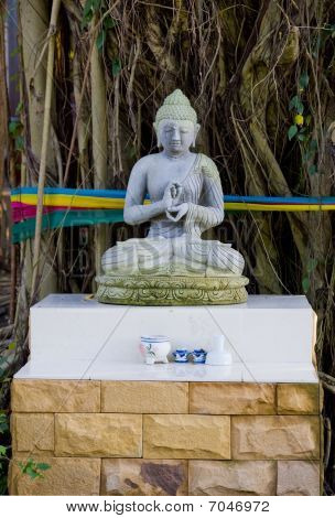 Buddha Made Of Stone