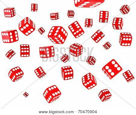 Red Dice Explosion