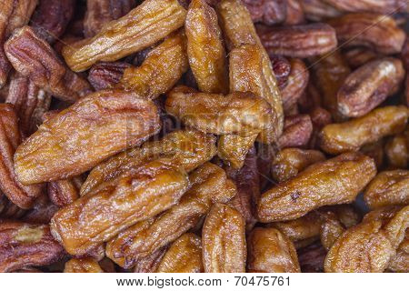 Dried Banana In Honey And Syrup - Thai Sweet