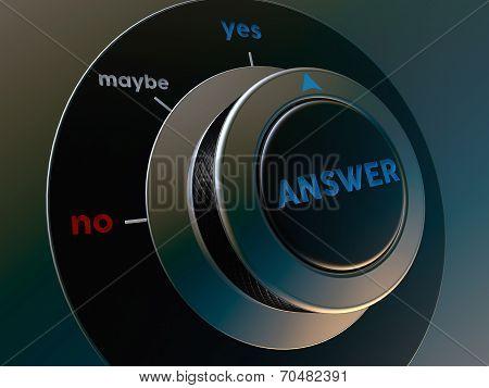 Knob Answer