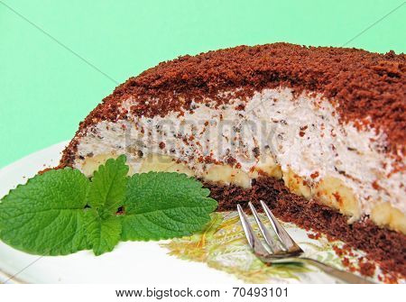 Decorated Half Mole Cake