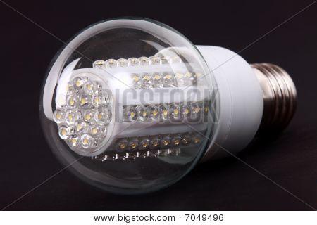 New Led Light Isolated