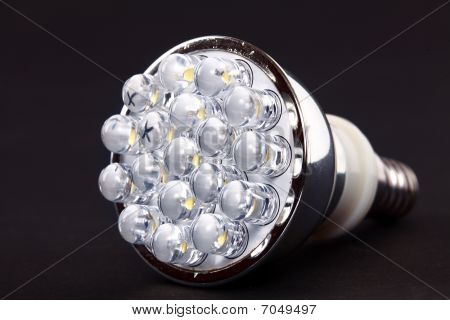 New Led Light Isolated