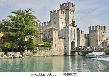Castle On A Lake