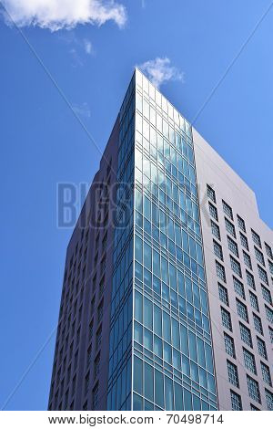 Beautiful Modern Building Exterior in Boston, MA
