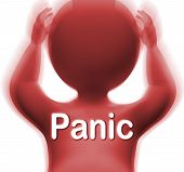 pic of panic  - Panic Man Meaning Fear Worry Or Distress - JPG