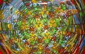foto of kaleidoscope  - A giant kaleidoscope of color at this Tour de Fat event in Atlanta - JPG