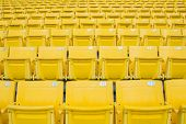 image of grandstand  - The Empty Chair at Grandstand - JPG