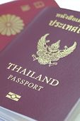 picture of passport cover  - Close  - JPG