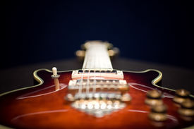 stock photo of ibanez  - Nice guitar shot with depth of field  - JPG