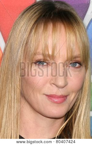 LOS ANGELES - DEC 16:  Uma Thurman at the NBCUniversal TCA Press Tour at the Huntington Langham Hotel on December 16, 2015 in Pasadena, CA