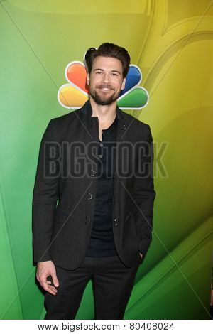 LOS ANGELES - DEC 16:  Nick Zano at the NBCUniversal TCA Press Tour at the Huntington Langham Hotel on December 16, 2015 in Pasadena, CA