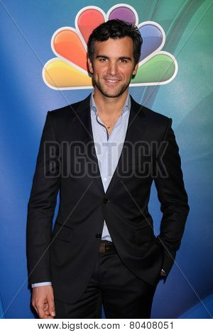 LOS ANGELES - JAN 16:  Juan Pablo di Pace at the NBC TCA Winter 2015 at a The Langham Huntington Hotel on January 16, 2015 in Pasadena, CA