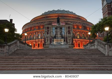Royal Albert Hall At Dusk
