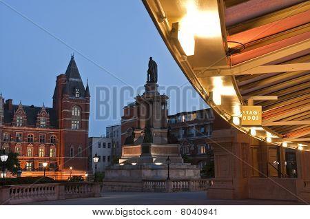 Royal Albert Hall At Dusk