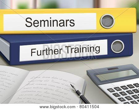 Seminars And Further Training Binders