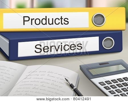Products And Services Binders