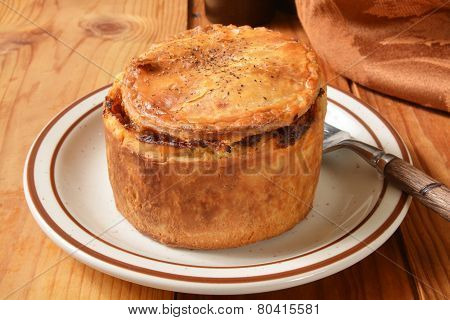 Gourmet Steak Pot Pie