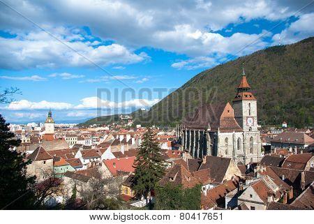Black Church Brasov, Transylvania, Romania.