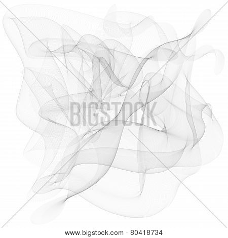 Vector abstract smoke background abstract, abstraction, line, backdrop, motion, isolated,